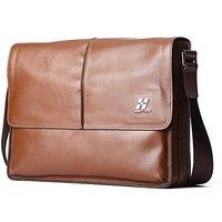 Hautton Leather Messenger Bag
