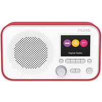 PURE ELAN E3 DAB RADIO RED