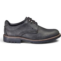 Leather Hybrid Derby Shoe Extra Wide Fit