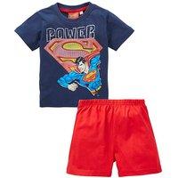 Superman Boys Short Pyjamas