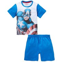 Avengers Boys Short Pyjamas