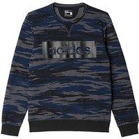 adidas Camo Crew Neck Sweatshirt