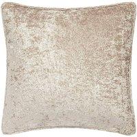 Crushed Velvet Filled Cushion