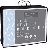 Duck Feather Duvet Bundle 13.5 Tog