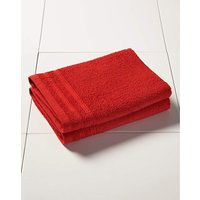 Everyday Value Towel Range - Red