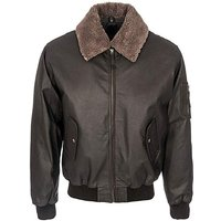 Woodland Leather Aviator Jacket