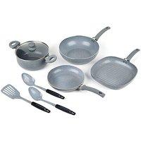 Russell Hobbs 7 Piece Pan & Utensil Set