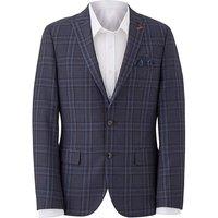 WandB LONDON Blue Check Suit Jacket