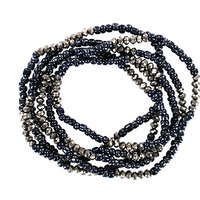 Lizzie Lee Multi Row Bead Bracelet