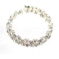 Lizzie Lee Pearl Coil Bracelet
