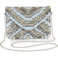 Sequin Embellished Clutch Bag