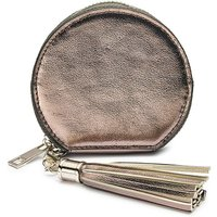 Gunmetal Mini Round Purse