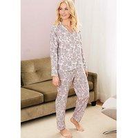 Pretty Secrets Luxury Printed Pyjama Set