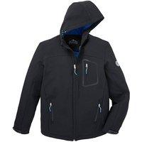 Snowdonia Black Soft Shell Jacket