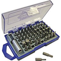 Faithfull Screwdriver Bit Set 61Pc