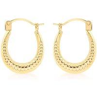9Ct Gold Mini Creole Earring