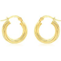 9Ct Gold Creole Earring