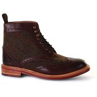 Chatham Stornoway High Ankle Brogue Boot