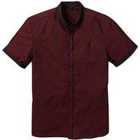 Black Label Cross Dye SS Shirt Long