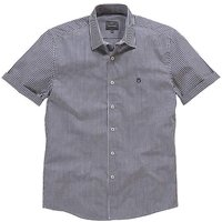 Peter Werth Short Sleeve Gingham Shirt L