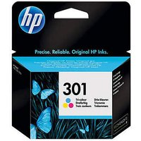 HP 301 Tri-Colour Original Ink Cartridge