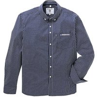 Lambretta Mini Grid Check Shirt Regular