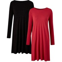 Pack of 2 Side Split Tunics