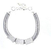 Lizzie Lee Hammered Effect Bracelet