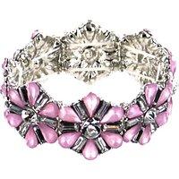 Lizzie Lee Flower Stretch Bracelet