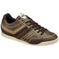 Image of Lonsdale Sivko Mens Leather Trainer