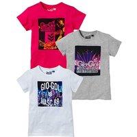 Gio Goi Girls Pk of 3 T-Shirts (8-13yrs)