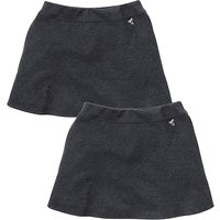 TKD Girls 2Pk Ponti Skirt Gen(7-16 yrs).