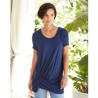 Navy Tuck Side Tunic