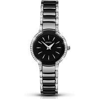 Seksy Ladies Black Ceramic Watch