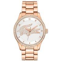 Lacoste Rose Gold-Tone Bracelet Watch