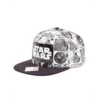 Star Wars Comic Strip Logo Snapback Cap