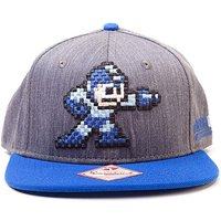 Mega Man Logo Snapback Cap