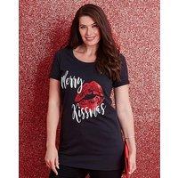 Merry Kissmas Christmas T-shirt