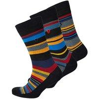 Pierre Cardin Pack of 3 Stripe Socks