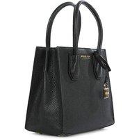 Michael Kors Black Bonded Tote Bag