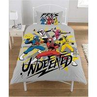 Power Rangers Ninja Steel Panel Duvet