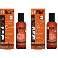 Keratin Hair Treatment Oil Duo