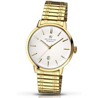 Gold Plated Expander Bracelet Watch