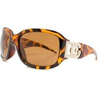 DG Eyewear Tortoise Frame Sunglasses