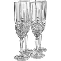 Waterford Marquis Brady Set of 4 Flutes