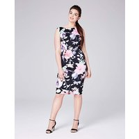COAST JAMILLIA PRINT JERSEY DRESS