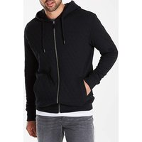 Jacamo Quilted Effect Hooded Top Long