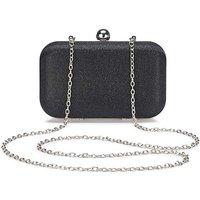 Alice Black Clutch Bag