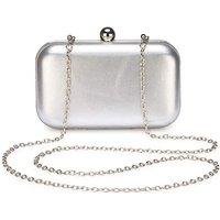 Alice Silver Clutch Bag