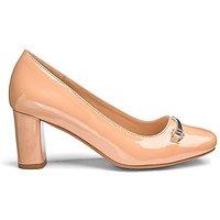 Heavenly Soles Trim Court Shoe EEE Fit